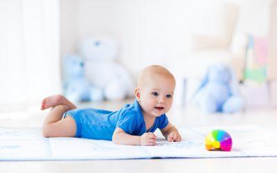 Actividades para ejercitar la motricidad gruesa en niños y niñas de 0-3 años