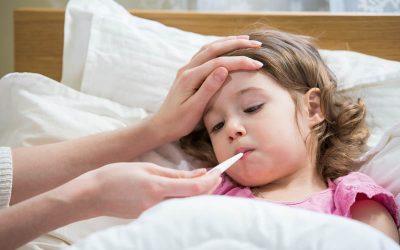¿Qué hacer en caso de gripe de niños pequeños?